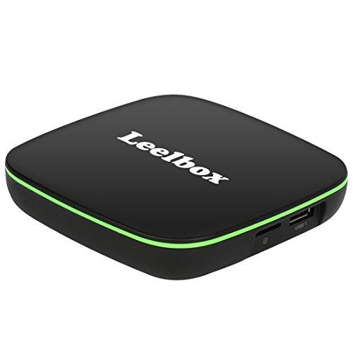 2018 Nuovissimo Leelbox Q1 Android TV Box 1GB/8GB Android 6.0 TV Smart TV Box Con BT 4.0 Supporto 4K (60Hz) Full HD /H.265 /WiFi