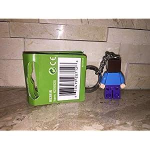 Amazon.co.jp - レゴ マインクラフト スティーブ キーチェーン 853818