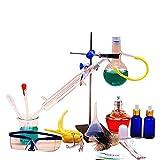 Equipo Laboratorio De Instrumentos Químicos Unidad De Destilación De Vidrio Horno Eléctrico Pure Dew Purificación Laboratorio Químico