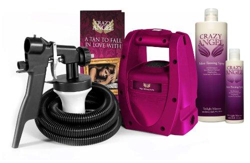 Crazy Angel - Airbrush Spray Tanning Kit - Airbrush Petite Kit....