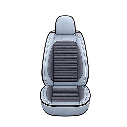 GAOJIA Compatible con 90% Vehículo Bordado Anterior ANTRIENTE Y DESPUÉS DE Libre DE Libre DE Cubierto DE CUCHO DE CUCHO Coche Conjunto Completo DE Protectores DE Seat (Color : A)