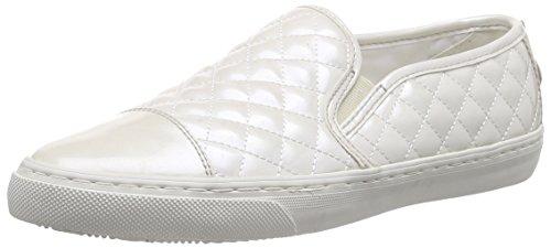 Geox D New Club C, Scarpe Low-Top Donna, Bianco (off White), 35 EU