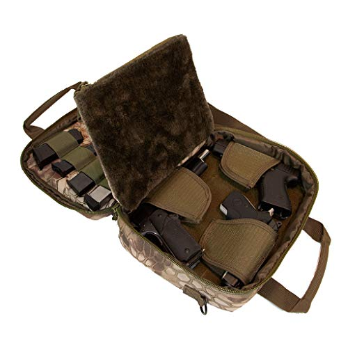 Pistol Case Range Bag for Handguns by FirstChoice; 2-4 Gun...