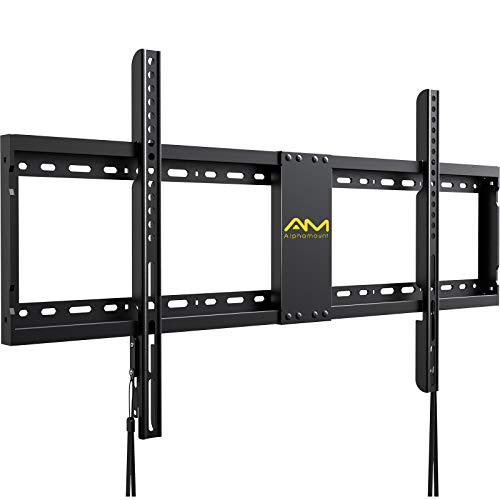 Soporte fijo para TV de 32 a 84 pulgadas, soporte de pared de perfil bajo con VESA de hasta 800 x 400 mm, soporta hasta 120 libras soporte de montaje de TV para LED LCD OLED Flat/Curved TVs-APXL2