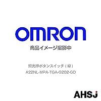オムロン(OMRON) A22NL-MPA-TGA-G202-GD 照光押ボタンスイッチ (緑) NN-