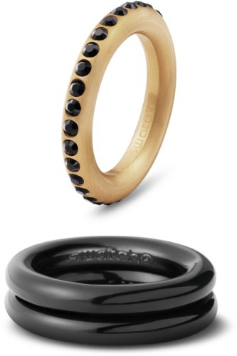 Swatch JRB032-8 - Anillo de Acero Inoxidable, Talla 17 (18,16 mm)