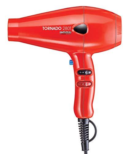 Xanitalia Pro Tornado 28 T Asciugacapelli Professionale, Rosso - 490 Gr