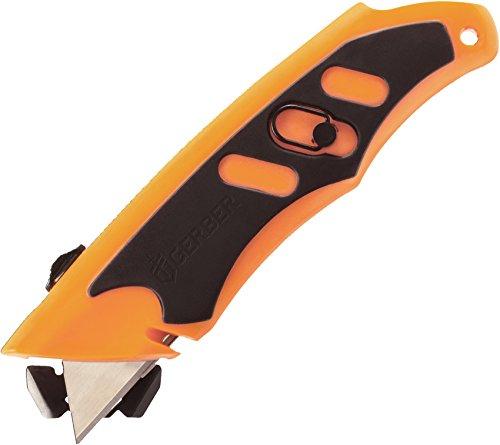 Gerber g30000416 Couteau à Lama fissa, unisexe – adultes, Orange, Un Taille