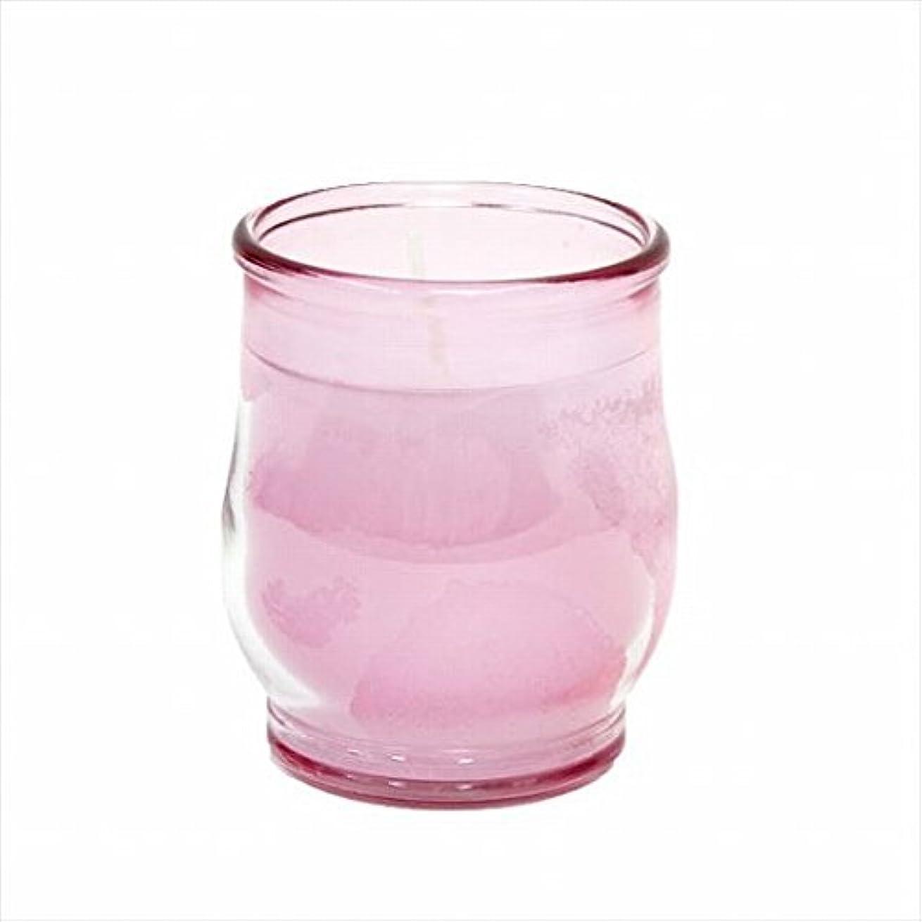 愛情深い文法ミットカメヤマキャンドル(kameyama candle) ポシェ(非常用コップローソク) 「 ピンク(ライトカラー) 」
