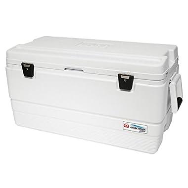 Igloo 44687  Marine Ultra Cooler (White, 94-Quart)