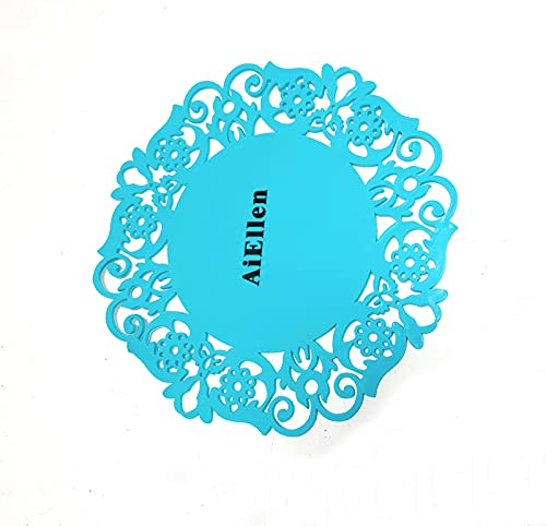 Silikon Round Drinks Coaster for Coffee Tee, Novelty Table Mats and Coaster Feet Sets Placemat for Möbel