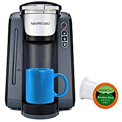 Mixpresso Single Serve K-Cup Coffee Maker