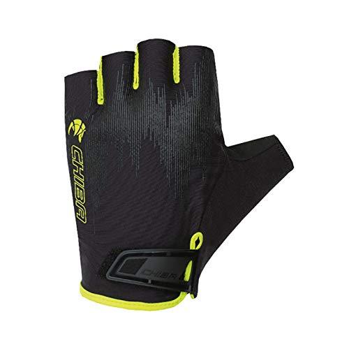 Chiba Frequency Road Fahrrad Handschuhe kurz schwarz/gelb 2019: Größe: XXXL (12)