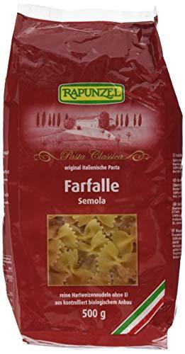 Rapunzel Farfalle Semola, 6er Pack (6 x 500 g) - Bio