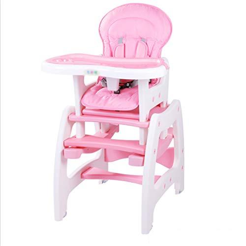 Qujifangedcy Kinderen Eetkamerstoel, Groei Multifunctionele Verstelbare Eet Kid Kinderstoel Afneembare Split bureaustoel, voor Thuis, voor 0-10 Jaar Oud