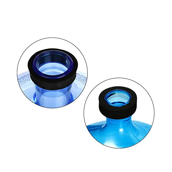 DLOPK Adaptador de Botella para dispensador de Agua Eléctrico Compatible con Botellas 5, 6, 8, 10, 12 litros | para…