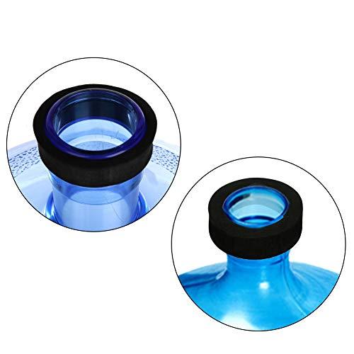 DLOPK Adaptador de Botella para dispensador de Agua Eléctrico Compatible con Botellas 5, 6, 8, 10, 12 litros | para Botellas o adaptadores con diámetro38mmY48mm
