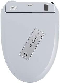 Toto Connect+ WASHLET S300e Elongated Bidet Toilet Seat with ewater+ SW574T20#01 Cotton White