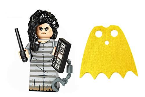 LEGO Harry Potter Series 2 Bellatrix y Batgirl Capa amarilla brillante