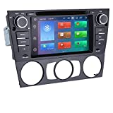hizpo 7 Inch 1 Din Android Navigation for 3 Series E90/E91/E92/E93(2006-2012) Car Stereo Supports Bluetooth DVR Radio Mirror-Link Radio GPS DSP Navigation 4G+64G DVD Player