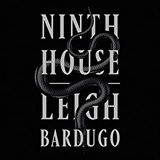 Ninth House audiobook cover art