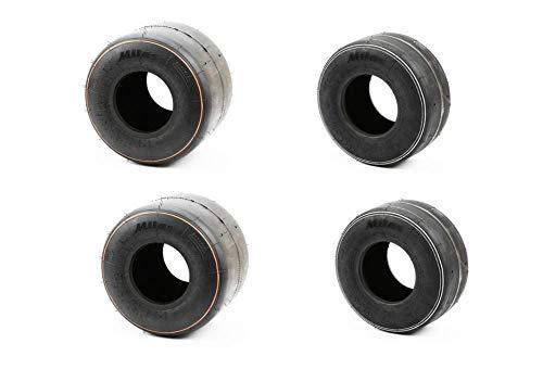 Mitas Kart Reifen Satz Reifen SRH (2Stück 4.5 vorne & 2Stück 7.1 Hinten)