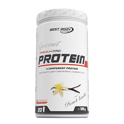 Best Body Nutrition Gourmet Premium Pro Protein French Vanilla Dose, 500 g