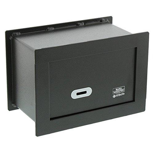 BURG-WÄCHTER Wandtresor mit Schlüssel, Point-Safe, zum Einmauern, 3,5 l, 6,6 kg, PW 1 S, Schwarz
