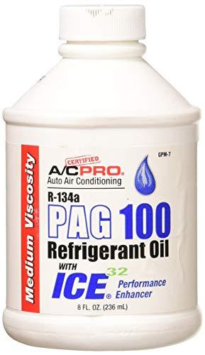 InterDynamics Certified A/C Pro R-134a PAG 100 Refrigerant Oil - ICE 32 (8 fl. oz.)