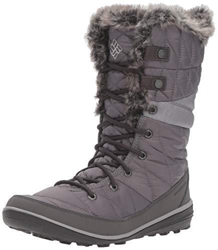 Columbia Women's Heavenly Omni-Heat Snow Boot, Quarry, Dove, 9 Regular US