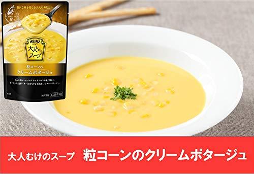 ハインツ(Heinz)大人むけのスープ粒コーンのクリームポタージュ160g×5袋
