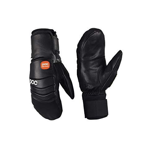 POC Handschuhe Palm Comp Mitten Jr, Unisex Kinder L Schwarz (Uranium Black)