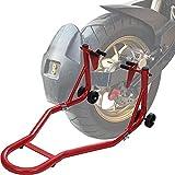 DDHVVOH Caballete Trasero para Moto - Capacidad de Carga MáXima de 850 Kg -Rojo