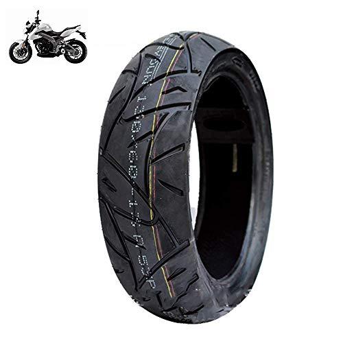 Neumáticos, Neumático para Scooter eléctrico, Neumático de vacío Antideslizante 130/60-13, Resistencia a la abrasión 6pr, Resistencia a los pinchazos, Bajo Nivel de Ruido, Apto para Motocicletas el