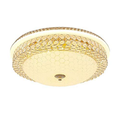N/A Lámpara de Techo LED Moderna Sala de Estar nórdica Lámpara de Dormitorio Círculo y Luces de la Sala de atenuación Creativa Acogedor y romántico