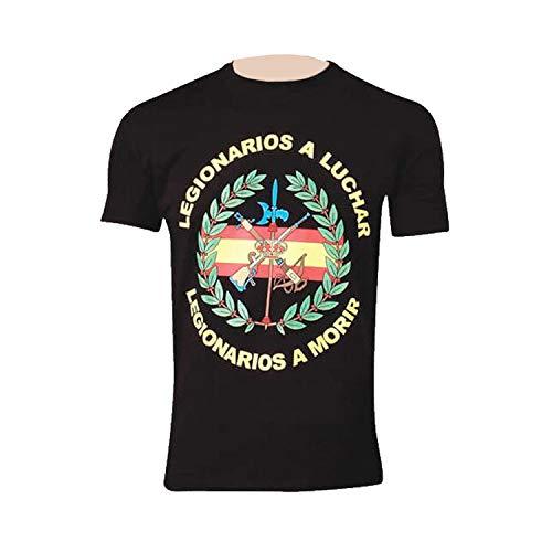 Pielcu Camiseta Legionarios a Luchar, Legionarios a Morir (M)