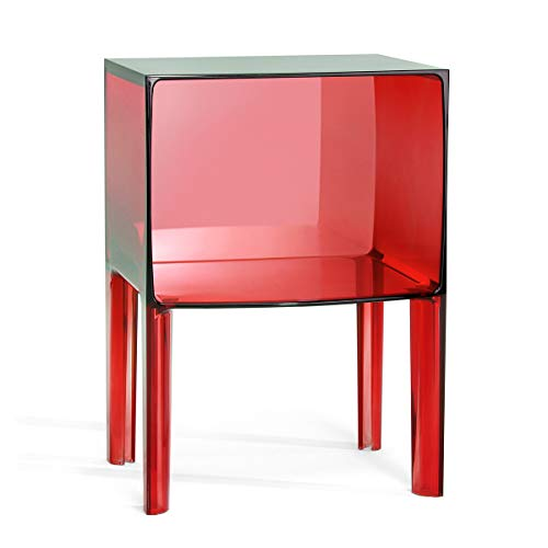 Kartell - Small Ghost Buster - Table de Chevet V5 Rosso