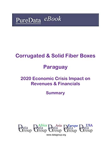 Corrugated & Solid Fiber Boxes Paraguay Summary: 2020 Economic Crisis Impact on Revenues & Financials (English Edition)