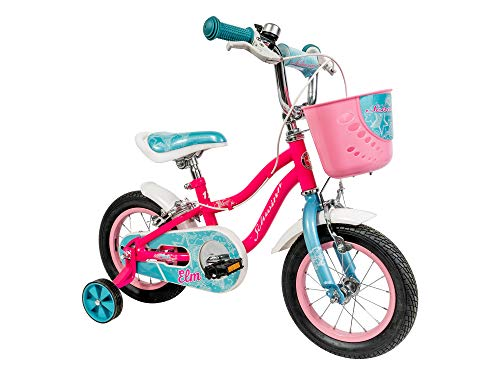 Schwinn Girls' Elm Bicycle, Pink, 12-inch Wheels