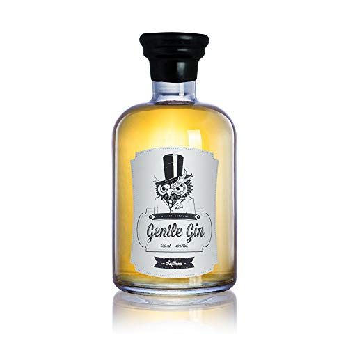 Gentle Gin Saffron - Small batch - Hand made, 0.5 l