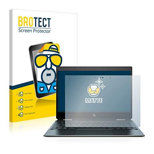 BROTECT Matt Bildschirmschutz Schutzfolie für HP Spectre x360 13-ap0102ng (matt - entspiegelt, Kratzfest, schmutzabweisend)
