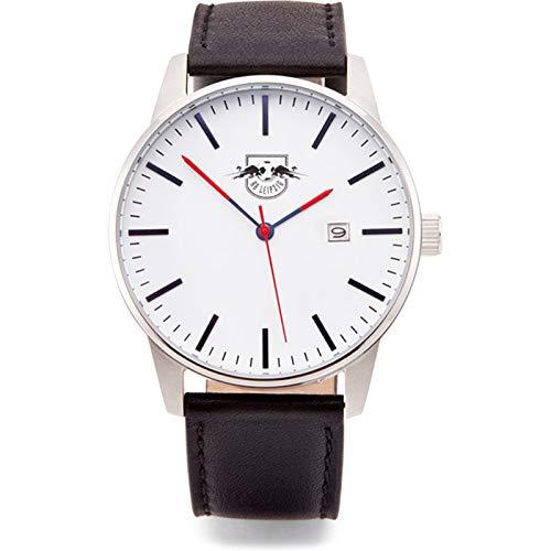 RB Leipzig RBL Classic Time Watch u 2B 18 - Reloj de Pulsera, Schwarz Silber weiß, Talla única
