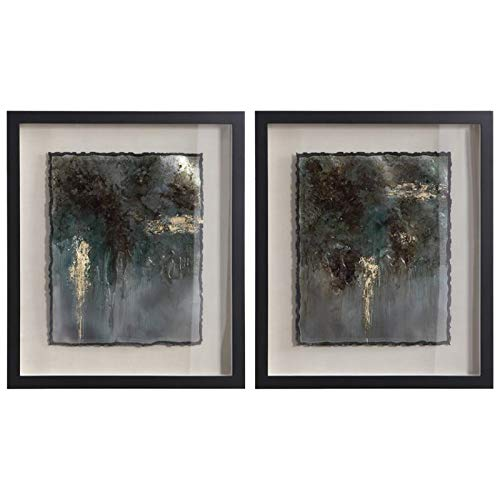 Uttermost Rustic Patina Framed Print (Set of 2)