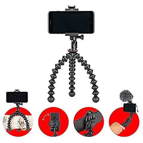 gorilla pod smartphone JOBY GripTight GorillaPod PRO 2 Supporto Telefono Universale/Treppiede Professionale Flessibile per Smartphone e iPhone