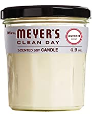 [US Deal] Save on Mrs. Meyer's Clean Day Scented Soy Candle, Honeysuckle Scent, 7.2 ounce candle. Discount applied in price displayed.