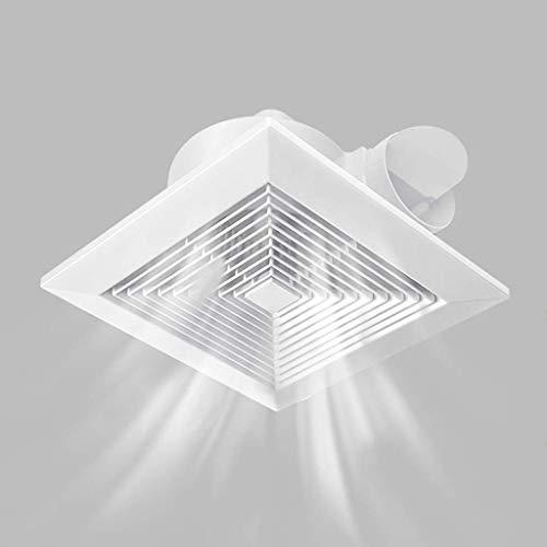 Extractor De Baño, Extractor de baño, ventilador, extractor de cocina, ventilador, montado en el techo, potente silencioso para baño/cocina/dormitorio/techo de oficina (tamaño: 8 pulgadas)