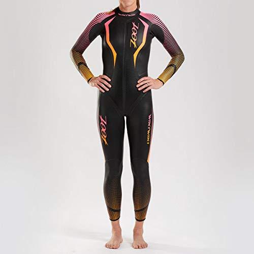 Zoot Damen Wikiwiki Neoprenanzug mit Tasche, 0,3mm dünnen Ärmel, SCS Nano Beschichtung, aus bestem Yamamoto Neopren und ideal für Triathlon und Open Water-Swimming Größe S