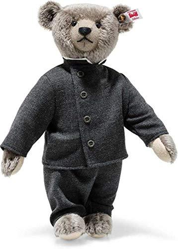 Steiff Teddybär Richard dunkelgrau 32cm Mohair limitiertes Sammlerstück Teddy Sammlerteddy