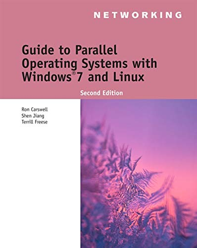 Guide to Parallel Operating Systems with Windows 7 and Linux (Networking)