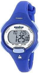 commercial Timex T5K784 Iron Man Essential 10 Medium Blue Resin Oriental Watch running watches women 2